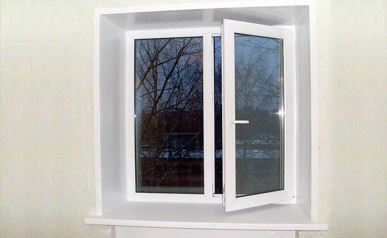Купить двухстворчатые окна в Северске