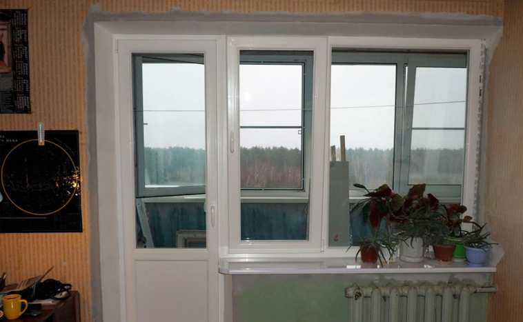 Купить балконный блок в Северске