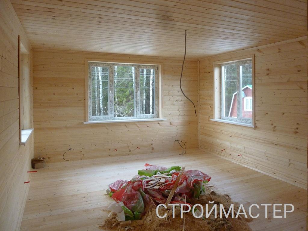 Окна пвх в деревянном доме Северск