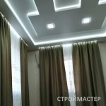 Натяжной потолок в зале Северск
