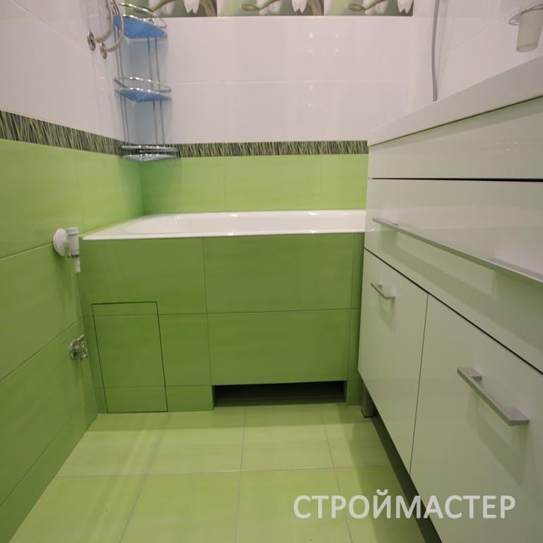 Квартира ремонт ванной с фото