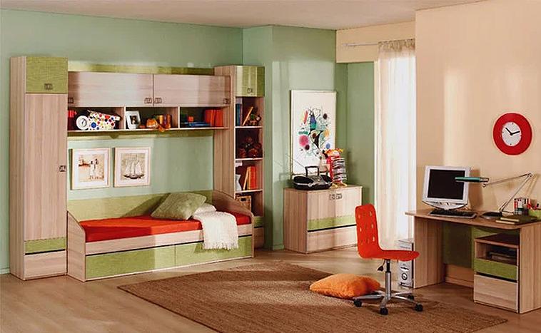 Корпусная мебель для детской на заказ в Северске