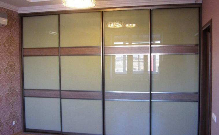 Двери из стекла Lacobel для шкафов купе в Северске
