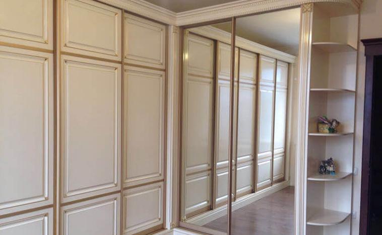 Двери из МДФ для шкафов купе в Северске