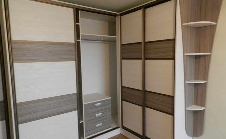 Нестандартные решения дверей для шкафов купе под заказ в Северске
