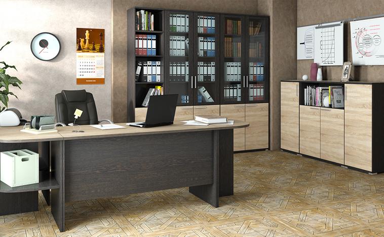 Корпусная мебель для офиса на заказ в Северске